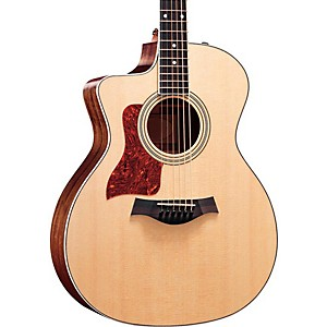 Taylor-214ce-L-V1-Rosewood-Spruce-Grand-Auditorium-Left-Handed-Acoustic-Electric-Guitar-Natural