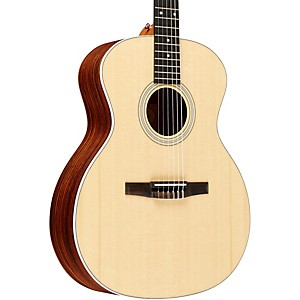 Taylor-2012-214e-N-L-Rosewood-Spruce-Nylon-String-Grand-Auditorium-Left-Handed-Acoustic-Electric-Guitar-Natural