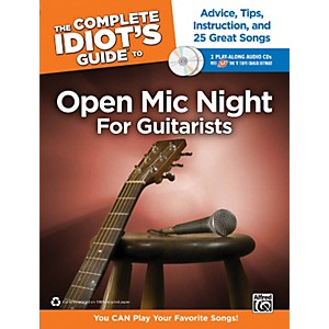 Alfred-The-Complete-Idiot-s-Guide-to-Open-Mic-Night-Book-for-Guitarists---2-CDs-Standard