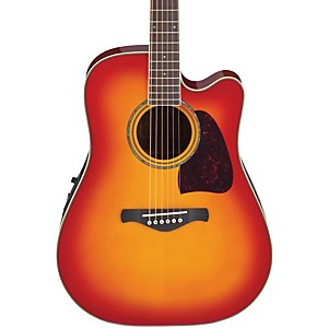 Ibanez-Artwood-Series-AW300ECE-Solid-Top-Dreadnought-Cutaway-Acoustic-Electric-Guitar-Standard