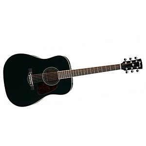Ibanez-Artwood-Series-AW70-Solid-Top-Dreadnought-Acoustic-Guitar-Black