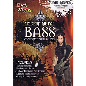 Rock-House-John-Moyer-Of-Disturbed---Modern-Metal-Bass--Constructing-Bass-Lines--DVD-Standard