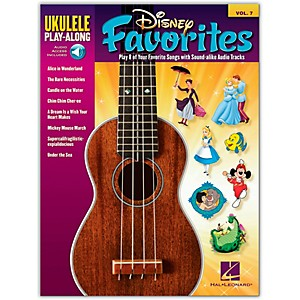 Hal-Leonard-Disney-Favorites---Ukulele-Play-Along-Vol--7-Book-CD-Standard