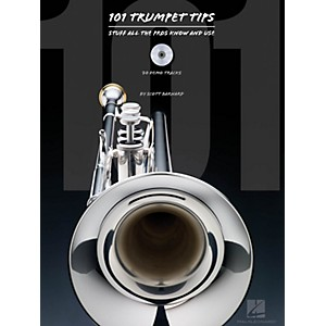 Hal-Leonard-101-Trumpet-Tips---Stuff-All-The-Pros-Know-And-Use-Book-CD-Standard