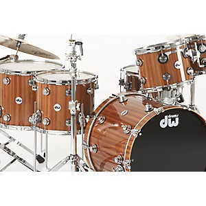 DW-Collector-s-Series-5-Piece-Lacquer-Custom-Shell-Pack-Mahogany-Maple-with-Chrome-Hardware