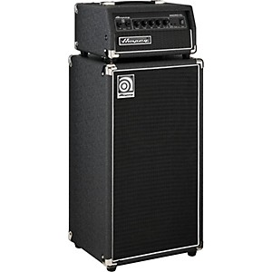 Ampeg-Micro-CL-100W-2x10-Mini-Bass-Stack-Black