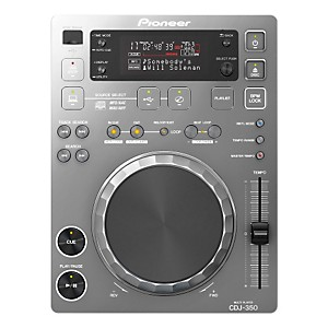 Pioneer-CDJ-350-Digital-Multi-Player--Silver--Silver-Multi-format-playback