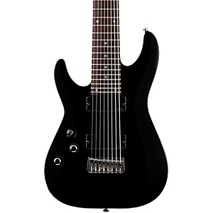 Schecter-Guitar-Research-OMEN-8-Left-Handed-Electric-Guitar-Black