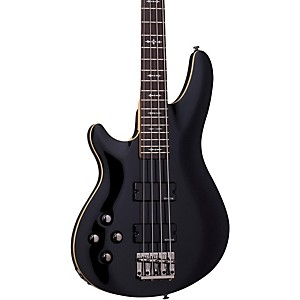 Schecter-Guitar-Research-Omen-4-Left-Handed-Electric-Bass-Guitar-Black