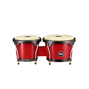 Meinl-Headliner-Series-Fiberglass-Bongo-Red
