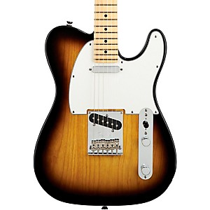 Fender-American-Standard-Telecaster-Electric-Guitar-with-Maple-Fingerboard-2-Color-Sunburst-Maple-Fingerboard