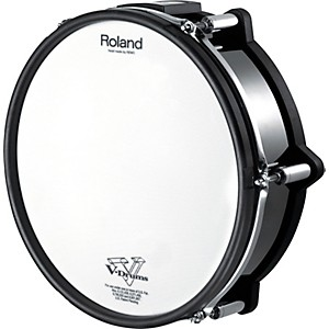 Roland-V-Pad-Snare-for-TD-30KV-Black-Chrome-Black-Chrome