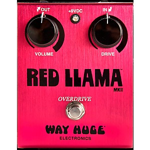 Way-Huge-Electronics-Way-Huge-Red-Llama-Overdrive-Guitar-Effects-Pedal-Standard