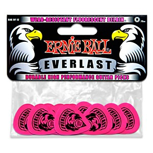 Ernie-Ball-Everlast-Delrin-Picks-12-Pack--Medium--Medium