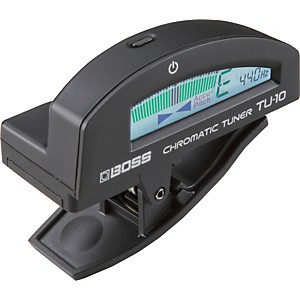 BOSS-TU-10-Clip-On-Chromatic-Tuner-Black