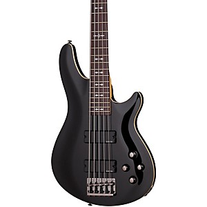 Schecter-Guitar-Research-OMEN-5-Electric-Bass-Guitar-Black