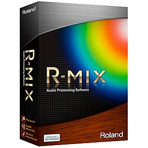Roland-R-MIX-Audio-Processing-Software-Standard