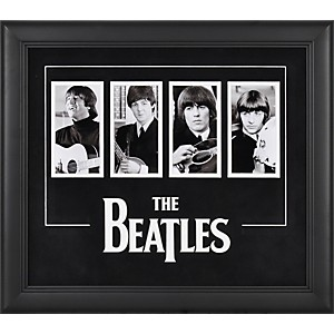 Mounted-Memories-The-Beatles-4-Photograph-Framed-Presentation-Standard