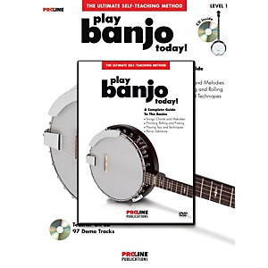 ProLine-Proline-Play-Banjo-Today--Method--Book-CD-DVD--Standard