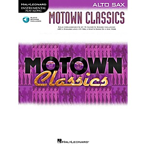 Hal-Leonard-Motown-Classics---Instrumental-Play-Along-Book-CD-Alto-Sax