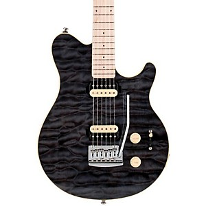 Sterling-by-Music-Man-SUB-AX3-Axis-Electric-Guitar-Trans-Black