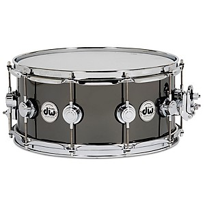 DW-Collector-s-Series-Snare-Drum-Black-Nickel-Over-Brass-w-Chrome-Hardware-14x6-5