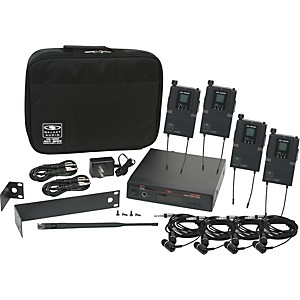 Galaxy-Audio-AS-1800-4-Band-Pack-Wireless-System-Freq--Code-B3