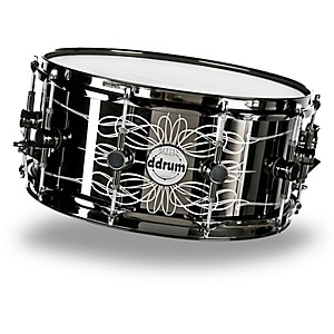 ddrum-Reflex-Tattooed-Lady-Engraved-Black-Steel-Snare-Drum-6-5x14