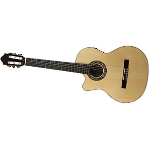 Kremona-Fiesta-F65CW-Left-Handed-Classical-Electric-Guitar-Gloss-Natural