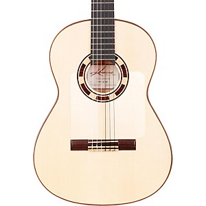 Kremona-Rosa-Blanca-Flamenco-Guitar-Gloss-Natural