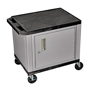 H--Wilson-Adjustable-Height-Tuffy-Cart-with-Lockable-Cabinet-Black-and-Nickel-Small-Large