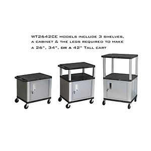 H--Wilson-Tuffy-Cart-with-lockable-cabinet-Black-and-Nickel-Small