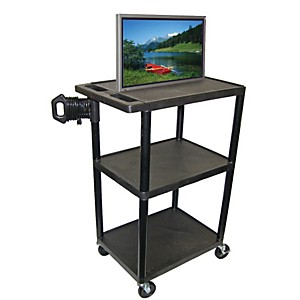H--Wilson-Mobile-Plasma--LCD-Cart--Up-To-50--Screen--Black-Medium