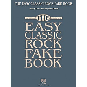 Hal-Leonard-The-Easy-Classic-Rock-Fake-Book---Melody--Lyrics---Simplified-Chords-In-Key-Of-C-Standard