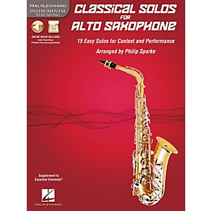 De-Haske-Music-Classical-Solos---15-Easy-Solos-for-Contest-and-Performance-Book-CD-Alto-Sax