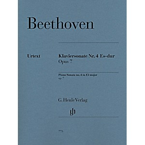 G--Henle-Verlag-Piano-Sonata-No--4-in-E-Flat-Major--Op--7-by-Beethoven---Henle-Urtext-Edition-Standard