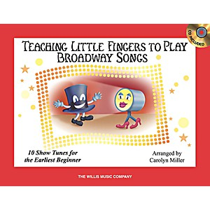 Willis-Music-Teaching-Little-Fingers-To-Play-Broadway-Songs-Book-CD-Standard