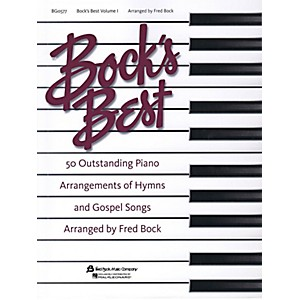 Fred-Bock-Music-Bock-s-Best---Volume-1-for-Piano-Solo-Standard