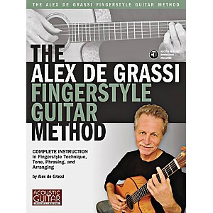String-Letter-Publishing-The-Alex-De-Grassi-Fingerstyle-Guitar-Method-Book-CD-Standard