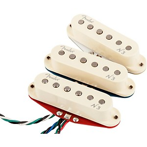 Fender-N3-Noiseless-Stratocaster-Pickups-Set-of-3-White-Covers