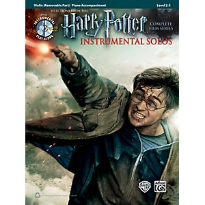Alfred-Harry-Potter-Instrumental-Solos-for-Strings---Violin--Book-CD--Standard