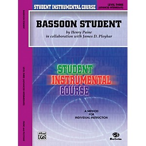 Alfred-Student-Instrumental-Course-Bassoon-Student-Level-3-Book-Standard