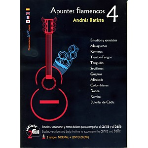 Mel-Bay-Apuntes-Flamencos-Vol--4-Book-2-CD-Set-Standard