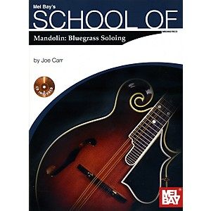 Mel-Bay-School-of--Mandolin--Bluegrass-Soloing-Book-CD-Set-Standard