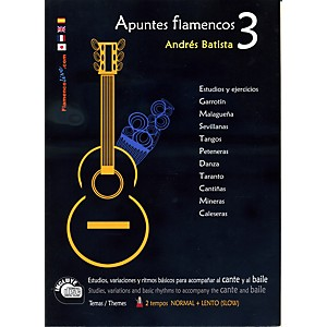 Mel-Bay-Apuntes-Flamencos-Vol--3-Book-CD-Set-Standard