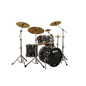 Premier-Genista-Maple-Modern-Rock-22-5-Piece-Shell-Pack-Solid-Black-Lacquer