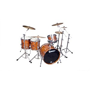 Premier-Classic-Bubinga-Elite-22-5-Piece-Shell-Pack-Natural-Bubinga