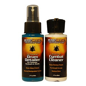 Music-Nomad-Cymbal-Cleaner-and-Drum-Detailer-Combo-Pack--2-oz---Standard