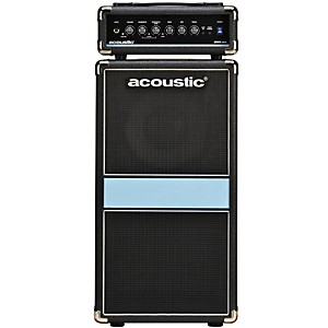 Acoustic-260mkII-1x10-100W-Bass-Mini-Stack-Black