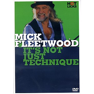 Music-Sales-Mick-Fleetwood-It-s-Not-Just-Technique-Drum-DVD-Standard